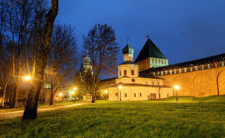 intercession: Church of the Intercession and the tower of intercession of the Novgorod Kremlin