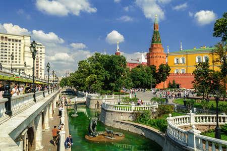 alexander: Alexander Garden and Moscow Kremlin