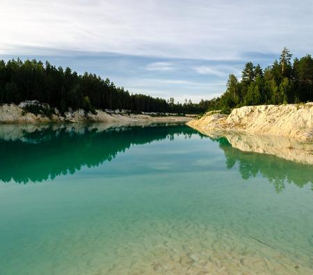 kaolin: Kaolin quarry  in Kyshtym