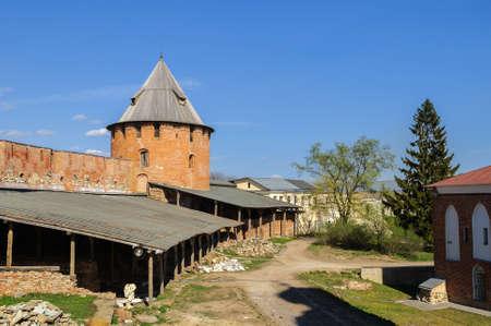 novgorod: Fedor Tower Novgorod Kremlin, Russia