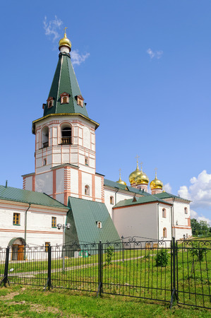 renunciation: The bell tower of the Valdai Iver Monastery in Valdai, Russia