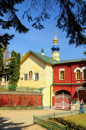 lazarus: Lazarus Church, The Pskovo-Pechersky Dormition Monastery