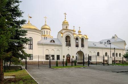 chelyabinsk: Church of the Intercession of the Holy Virgin in the city of Ozersk, Chelyabinsk region, Russia
