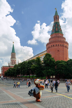 arsenal: Moscow Kremlin the Corner Arsenal Tower, Russia Editorial
