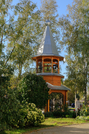 bell tower: The bell tower of the monastery Zverin, Veliky Novgorod