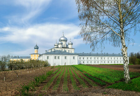 trees services: St. Varlaam Convent of the Transfiguration of Our Savior in Veliky Novgorod, Russia