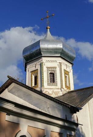 the coachman: The ancient Trinity Church  in Veliky Novgorod