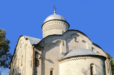 clement: Church of Clement, Pope of Rome in Veliky Novgorod Stock Photo