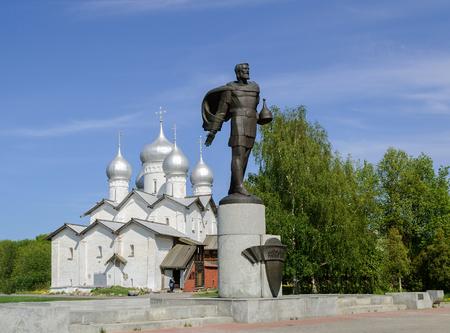 boris: Church of the Saint Boris and Saint Gleb in Plotniki, Veliky Novgorod Editorial