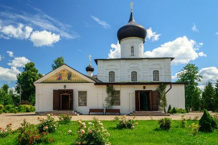 located: Church of St. George in Staraya Russa, located in Staraya Russa, Novgorod region, Russia