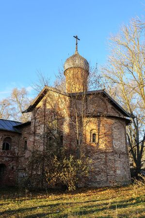 annunciation: Church of the Annunciation at the Marketplace in Veliky Novgorod