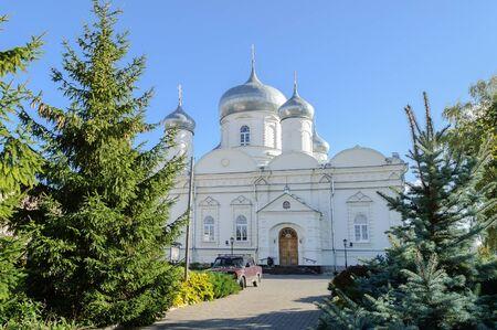veliky: Cathedral of the Intercession in Zverin monastery, Veliky Novgorod