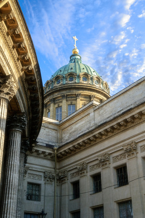 kazanskiy: Kazan Cathedral in St. Petersburg soft focus processing