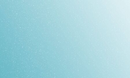 Light blue gradient background with falling snowflakes. Raster illustration