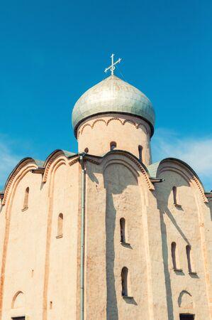 Veliky Novgorod, Russia. Saviour Church on Nereditsa is an orthodox church built in 1198, one of Russias oldest churches in Veliky Novgorod, Russia