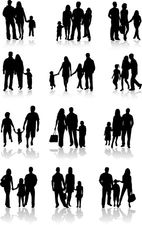 Family Togetherness Vector Vector