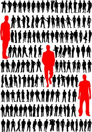 fashion men vector Illustration