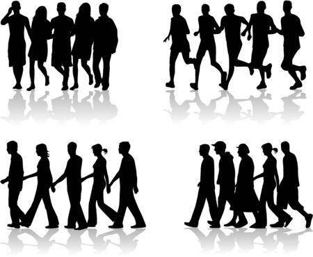 ocupation: Walking People