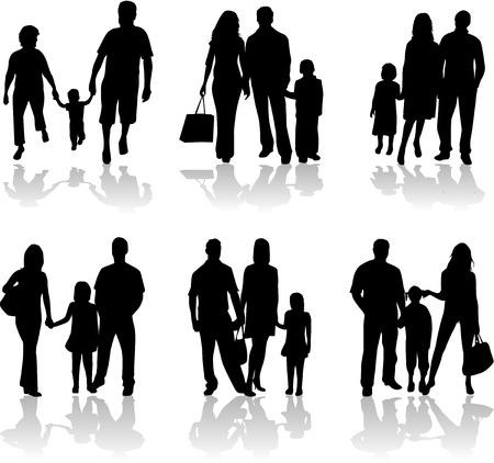 Glückliche Familie Standard-Bild - 6468124