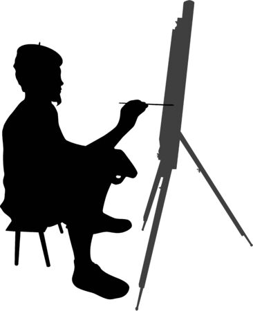 Painter 2 Vector