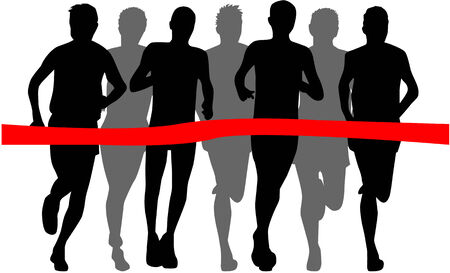Runners Vector