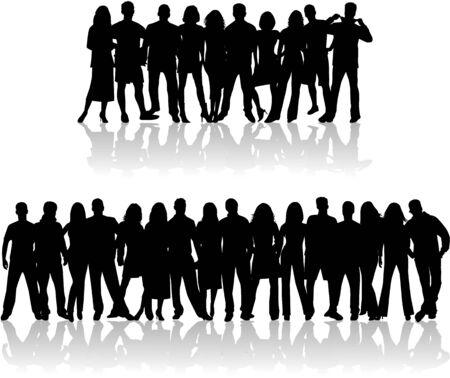 ruidoso: Personas de la ruidosa muchedumbre