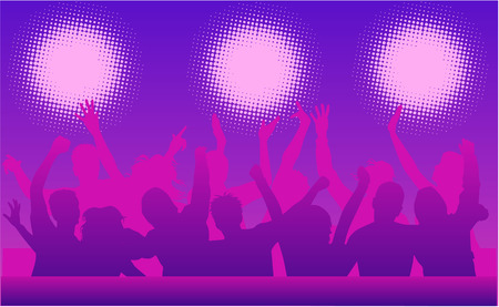 Music and dancing Stock Vector - 6507193