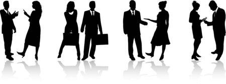 business people 2 Vector