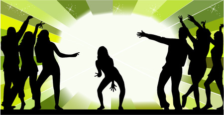 Event - All the dance Stock Vector - 6507182