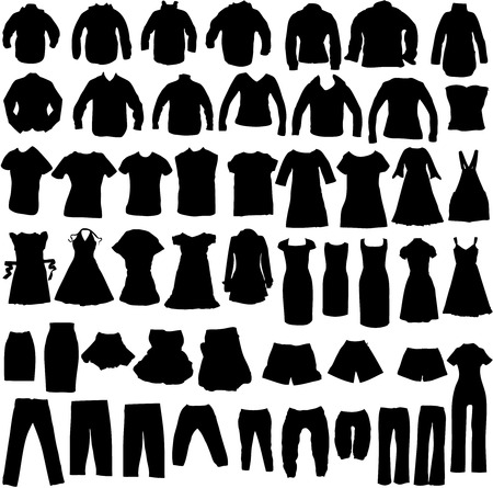 clothing shop: clothing Illustration