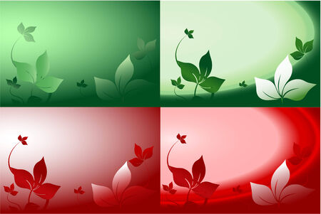 Leafy wallpaper Stock Vector - 6826215