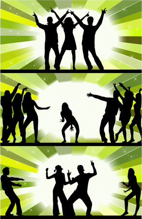 Party peoples Vector