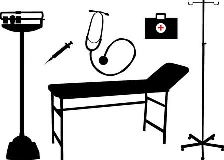 Icônes médicales Banque d'images - 7807772