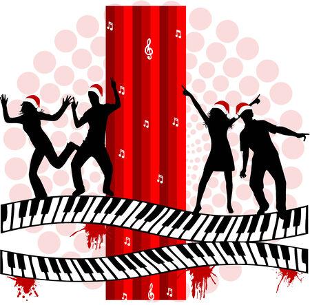 Music Party - illustration