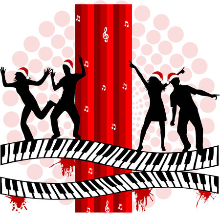 Music Party - illustration Vector