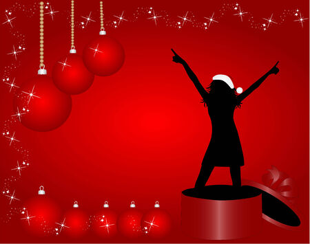 fiesta familiar: Navidad Girl