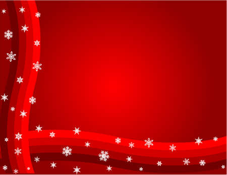 Christmas background, vector red grunge christmas background, vector illustration Vector
