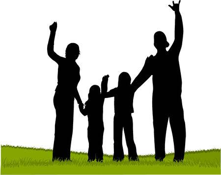 family Stock Vector - 8666606