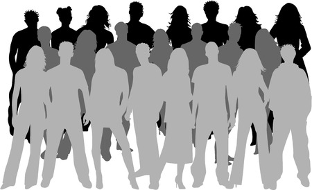 ocupation: large group of people