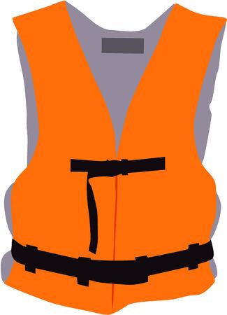 chaleco salvavidas - vector