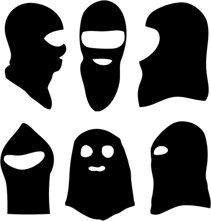 burglars: balaclava Illustration