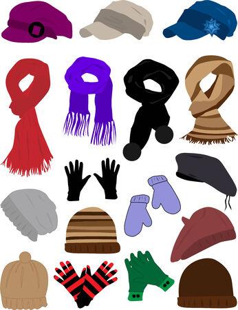 winter clothes Stock Vector - 8741551
