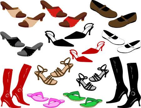 Fashion shoes Stok Fotoğraf - 8741657