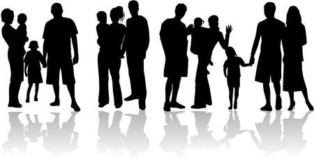 Families - vector work Vector