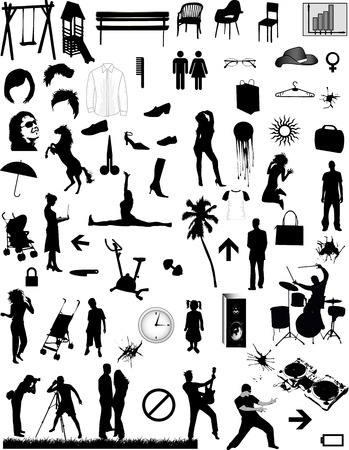 Big collection - vector design elements