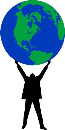 Your Own World , vectors work Stock Vector - 8741780