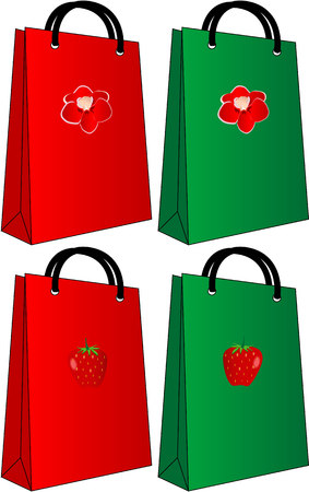 Bag on shopping Stok Fotoğraf - 8933730