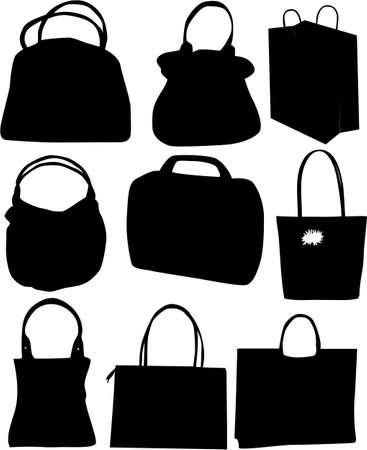 Vector handbag