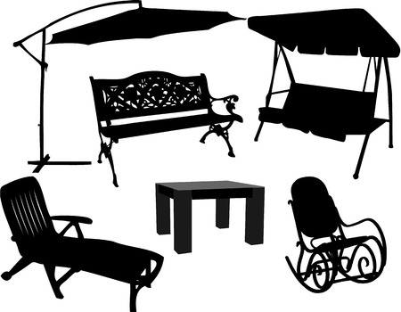 furniture for garden and terrace