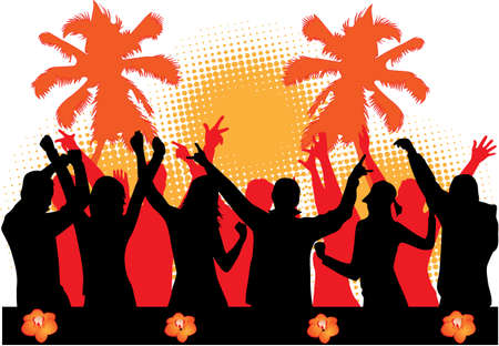 party dancers Vector